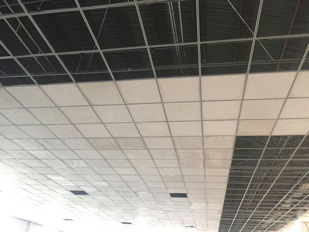 防火吊顶新复合材料—SWG镁质高晶板