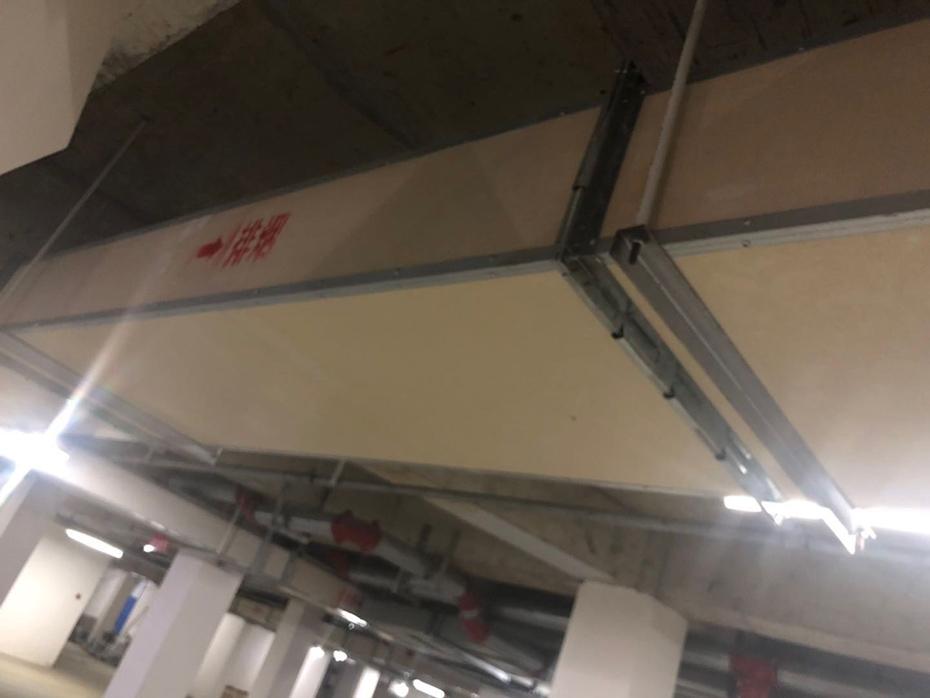 武汉军运会体育馆使用大川专利风管