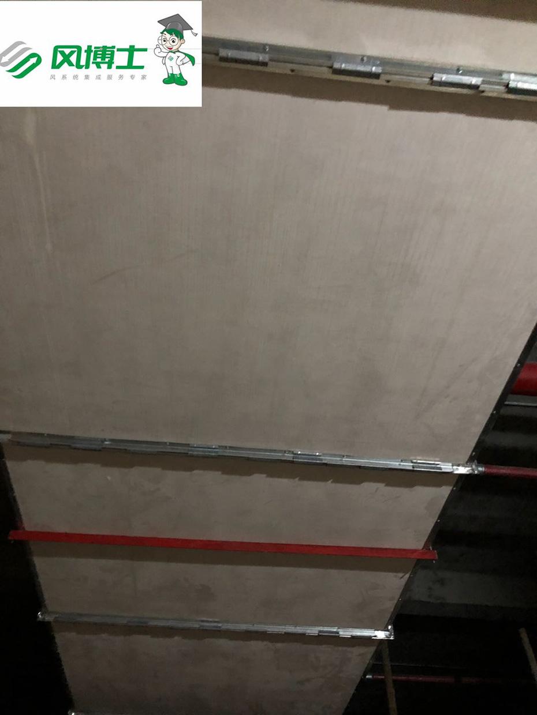 奥体中心及奥林匹克花园使用大川专利风管-SWG镁质高晶风管