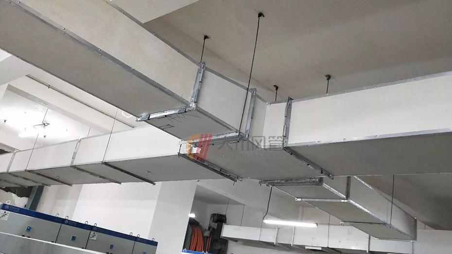 恒大曹家巷广场/使用大川专利风管-镁质高晶风管