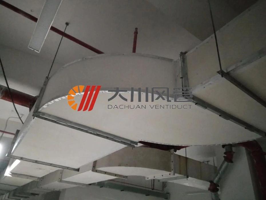 红星美凯龙使用大川专利风管-SWG镁质高晶风管