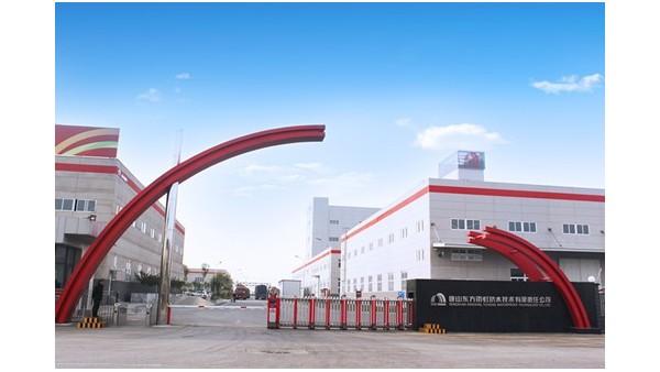 河北 | 唐山东方雨虹工厂使用大川专利风管材料-SWG镁质高晶风管