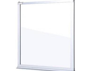 玻璃挡烟垂壁对比镁质高晶板
